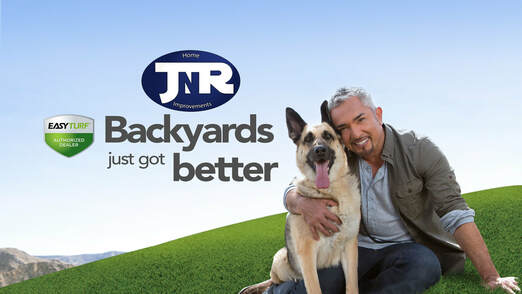 Cesar Milan uses EasyTurf in Valencia- Great for Saugus homeowners